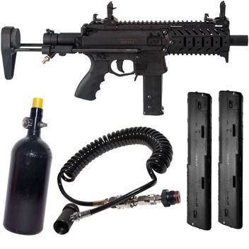 Milsig M17 MagFed SMG incl. HP System, Remote Kit with Bleeder & 2x 20rd Zeta Magazines