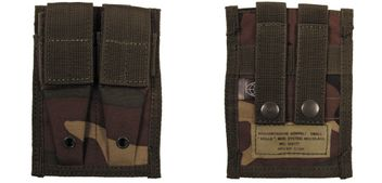 Magazine Pouch for 2 Magazines (MOLLE) - woodland