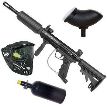 "Valken SW-1 Blackhawk ""Foxtrot Rig"" HP Paintball Set"