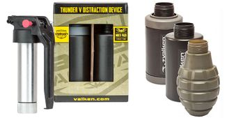 Valken Tactical Thunder V CO2 Knallgranate / Soundgranate mit Core - 3er Pack Multi