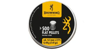 Browning Flathead Pellets 4.5 mm - 500 pieces