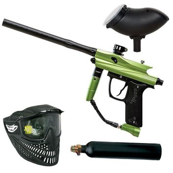 Azodin Kaos 2 Paintball Set - green/black