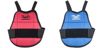 Valken Chest Protector for Kids - blue/red Reversible