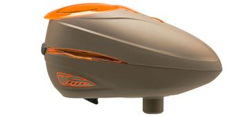 Dye Rotor Paintball Loader R2 - Lava / Brown Orange