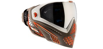 Paintball Maske DYE I5 Thermal - Lava / White Brown Orange