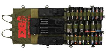 Enola Gaye Loadout Smoke Grenade Molle Display - olive