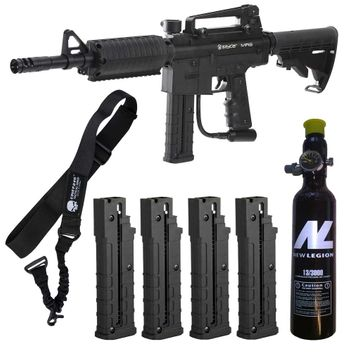 Spyder MR6 + 4x First Strike Magazin + 0,2 Liter HP System + Tragegurt
