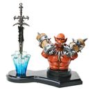 Letter Opener Warlord Games Orange Goblin with Table Stand