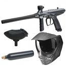 Tippmann Gryphon FX Carbon + Valor Maske FX Carbon + 12oz CO2 Pin Tank + Loader 200