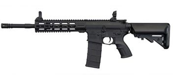 Tippmann Commando AEG Carbine 6mm BB Airsoft Gun - black