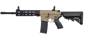 Tippmann Commando AEG Carbine 6mm BB Airsoft Gun - tan