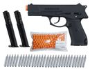 G.I. Sportz Menace Cal.50 Paintball Pistol incl. 2 Additional Magazines, 250 Paintballs cal.50 & 30x CO2 capsules