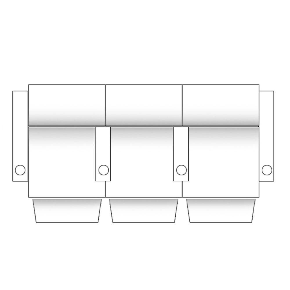 zinea kinosessel comic 3 sitzer stoff schwarz verstellbar becherhalter ebay. Black Bedroom Furniture Sets. Home Design Ideas