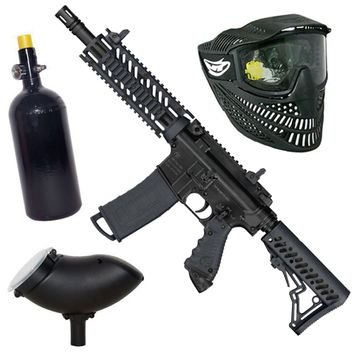 Tippmann TMC HP Set incl. Thermal Mask, 0,8 L HP System&  Loader 200  - black