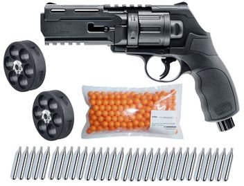 Umarex T4E HDR 50 RAM Home Defense Revolver cal.50 incl. 2 Additional Magazines, 250 Paintballs cal.50 & 30x CO2 capsules