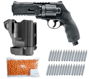 Umarex T4E HDR 50 RAM Home Defense Revolver cal.50 incl. Holster, 500 Paintballs cal.50 & 30x CO2 capsules