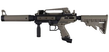 Paintball Markierer Tippmann Cronus Tactical cal.50 - black / dark earth