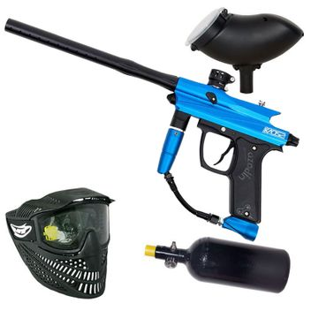 Azodin Kaos 2 HP Paintball Set - blue