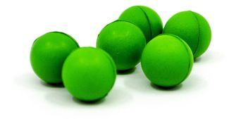 Valken Paintball Gotcha Reusable Soft Foam Balls cal. 50 - 100 pcs. - neon green