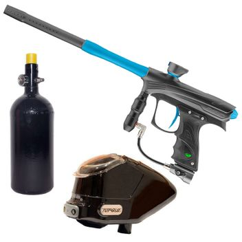 Proto Rize MaXXed Paintball Package - grey/cyan