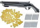 Umarex T4E HDS 68 Double Barrel Paintball Shotgun inkl. 20x 12 Gramm CO2 Kapseln & 50x Nylonballs cal.68
