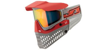 Paintball Maske JT Proflex Spectra Thermal LE red/grey mit Prizm 2.0 Lava Glas