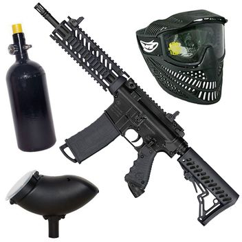 Tippmann TMC HP Set incl. Thermal Mask, 0,8 L HP System&  Loader 200  - black - Cal.50