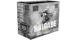 G.I. Sportz Brigade Paintballs für MagFed 1000 pcs - Yellow Fill