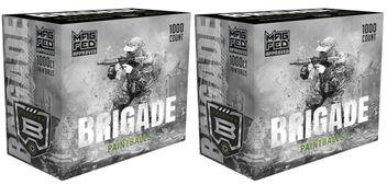 G.I. Sportz Brigade Paintballs für MagFed 2000 pcs - Pink Fill