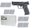 Smith & Wesson M&P9 2.0 T4E cal.43 Pistole inkl. 4000 Paintballs cal.43 & 40x CO2 Kapseln (12g)