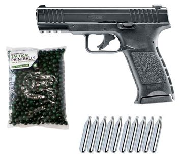 Umarex T4E TPM1 cal.43 Home Defense Pistol incl. 500 Paintballs cal.43 & 10x CO2 Capsules (12g)
