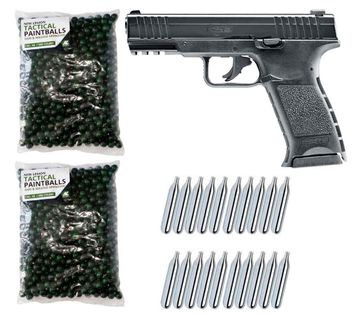 Umarex T4E TPM1 cal.43 Home Defense Pistole inkl. 1000 Paintballs cal.43 & 20x CO2 Kapseln (12g)