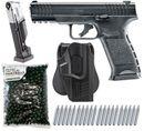 Umarex T4E TPM1 cal.43 Pistole inkl. Ersatzmagazin, Holster, 500 Paintballs cal.43 & 20x CO2 Kapseln (12g)
