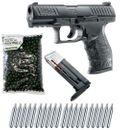 Walther PPQ M2 T4E RAM Pistole cal.43 inkl. Ersatzmagazin, 500 Paintballs cal.43 & 20x CO2 Kapseln (12g) - black