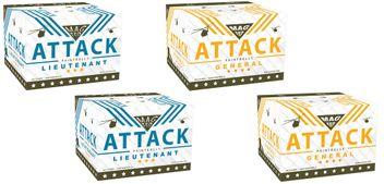 New Legion Magfed Testpaket - 2x New Legion Attack Lieutenant Magfed Paintballs stripe + 2x New Legion Attack General Magfed Paintballs stripe