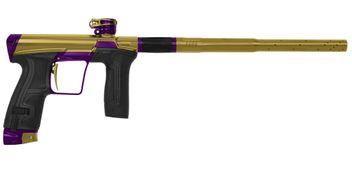 Paintball Markierer Planet Eclipse CS2 Pro New Dawn gold / lila