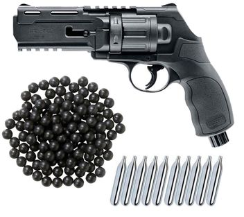 Umarex T4E HDR 50 RAM Home Defense Revolver cal.50 inkl. 100 Rubberballs cal.50 & 10x CO2 Kapseln (12g)