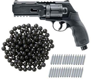 Umarex T4E HDR 50 RAM Home Defense Revolver cal.50 inkl. 500 Rubberballs cal.50 & 30x CO2 Kapseln (12g)