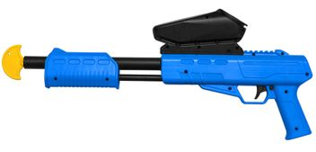 Blaster Kids Markierer Gotcha Gun / Shotgun cal. 50 (0.5 J) inkl. Loader - blau