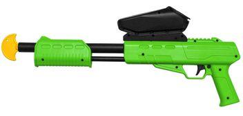 Blaster Kids Markierer Gotcha Gun / Shotgun cal. 50 (0.5 J) inkl. Loader - lime