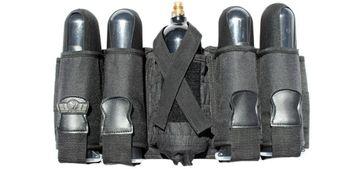 GXG Battle Pack 4+1 vertikal, schwarz