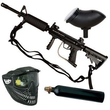 Valken SW-1 Blackhawk M16 Style inkl. Tragegurt / Sling CO2  Set