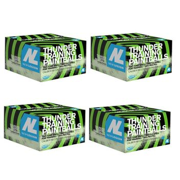 New Legion Thunder Paintballs 8000 pcs.