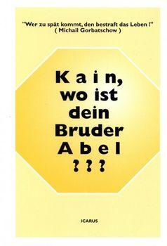 Buch: G. Obel Kain, wo ist dein Bruder Abel?