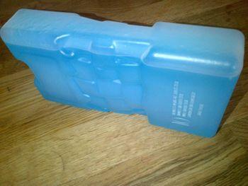 1 Kühlakku XL große Ausführung xtra large ca. 20 x 10,5 x 4 cm
