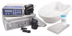 Detox Ion Cleanser Galvano Komplettset mit Spulen, Wanne, Salz und Schonern.