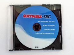 Anleitungs-DVD Kleinpatronentechnik Oxywell Sauerstoffwasser auf Deutsch