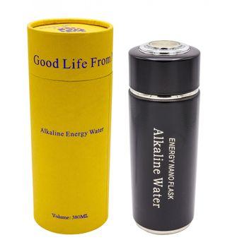 Alkaline Water Flask, Bereiter für alkalisches Wasser - schwarz