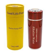 Alkaline Water Flask, Bereiter für alkalisches Wasser - rot