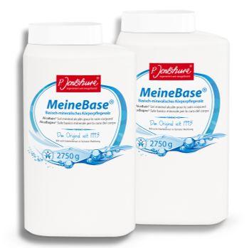 2x Dr. Jentschura ORGON basisch-mineralisches Badesalz, Meine Base, 2750 g